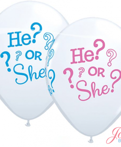 He or She ballonnen Jose bakery