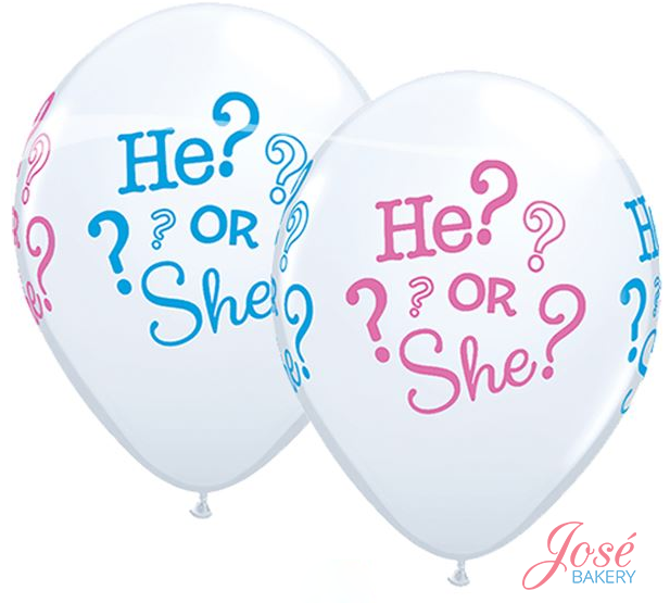 He or She ballonnen Jose bakery