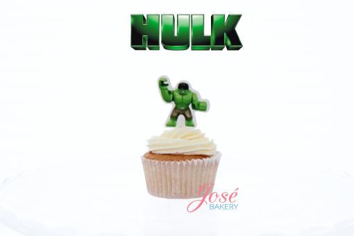 Hulk lego cupcake toppers Jose bakery
