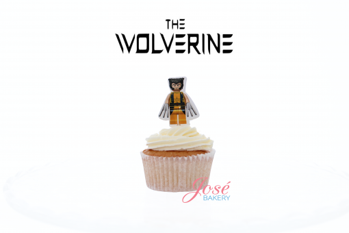 Wolverine lego cupcake toppers Jose bakery