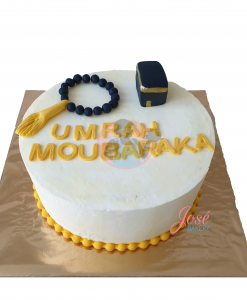 Umrah Moubaraka taart 10 personen