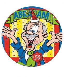 Abraham taart print 20 cm