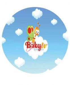 BabyTV taart print 20 cm