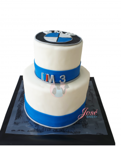BMW M3 taart 16 personen bestellen